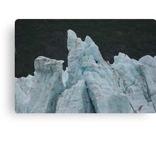 Blue Glaciers Canvas Print