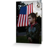 9-11 Greeting Card