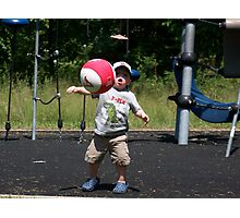 Let's Play Ball! Photographic Print