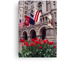 Old Post Office 1 Canvas Print