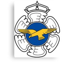 Emblem of the Finnish Air Force  Canvas Print