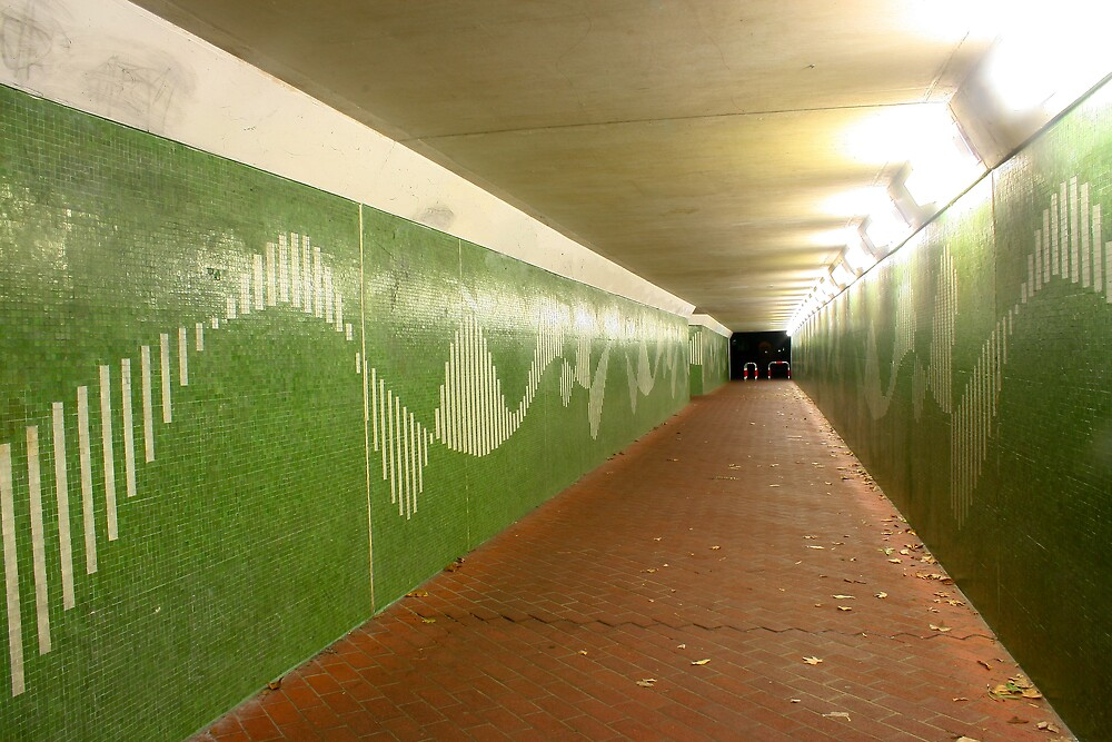 Perth at Night - Crawley Underpass by Phil Luyer