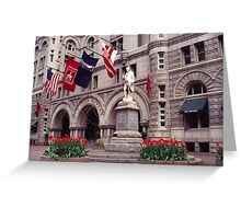 Old Post Office 2 Greeting Card