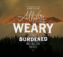 Matthew 11:28 by fusionice