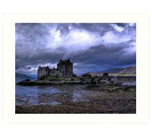 Touched by Heaven (Eilean Donan Castle) Art Print