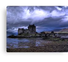 Touched by Heaven (Eilean Donan Castle) Canvas Print