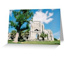 Old church ruins Greeting Card