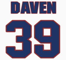 National football player Daven Holly jersey 39 by imsport