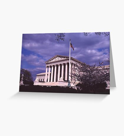 Supreme Court Building 1 Greeting Card