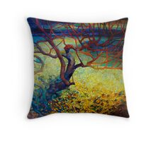 january dawn Throw Pillow