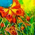 Butterfly Fantasy by Francine Dufour Jones