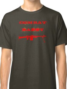 Red Military Combat Daddy Classic T-Shirt