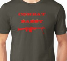 Red Military Combat Daddy Unisex T-Shirt