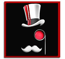 TheBusinessGaming Logo - Red Photographic Print