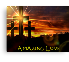 Amazing Love Canvas Print