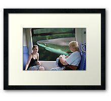 Nederland train window scene 4 Framed Print