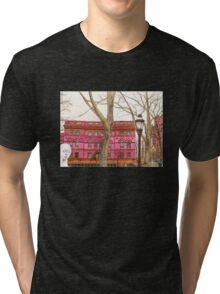 pratt institute library Tri-blend T-Shirt