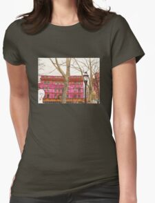 pratt institute library Womens Fitted T-Shirt