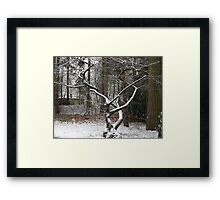 Tree nouveau Framed Print