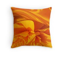ANOTHER OF MY MARIGOLDS Throw Pillow