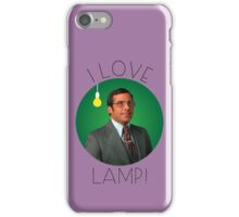 I love lamp iPhone Case/Skin