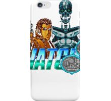 Snatcher (Sega CD) Logo v2.0 iPhone Case/Skin