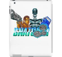 Snatcher (Sega CD) Logo v2.0 iPad Case/Skin