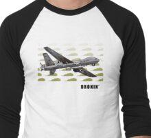 EVER'DAI Men's Baseball ¾ T-Shirt