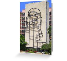 Shadows of Che Greeting Card