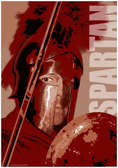 red spartan by earl ferguson
