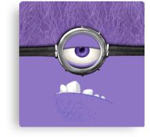 Despicable Purple Canvas Print