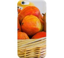 Basket of Pairs Harvest iPhone Case/Skin