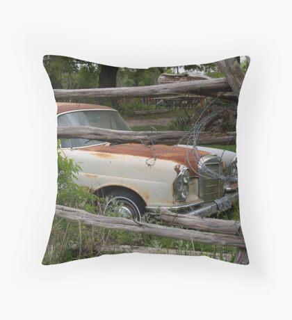 Rusty the Merc Throw Pillow
