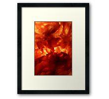 amber #6 Framed Print