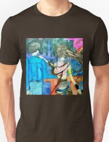 our last sunset gundam wing, final fantasy yuna Unisex T-Shirt
