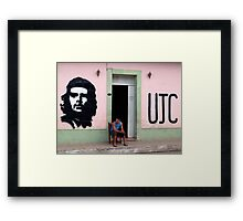 Che Seat Framed Print