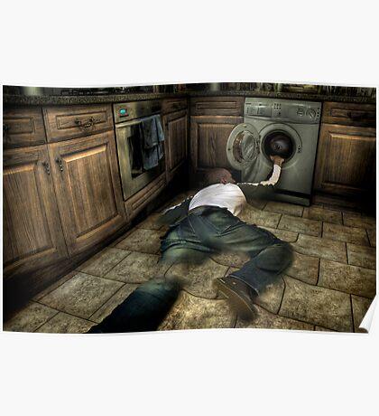 Bad washing machine trip Poster