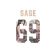 Sage Jiraiya Jersey #69 Photographic Print
