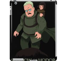 Shadow of Hodor iPad Case/Skin