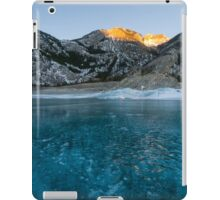 Abraham Lake iPad Case/Skin