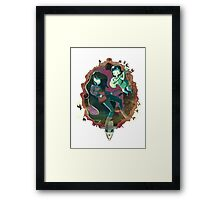 Babes with Bass Framed Print