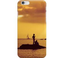 Silhouettes on the Beach iPhone Case/Skin