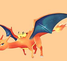 Charizard by Roes Pha