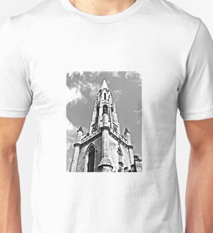 Church Black and White 2 Unisex T-Shirt