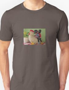 Gollies riding a Chicken T-Shirt