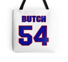 National football player Butch Riley jersey 54 Tote Bag