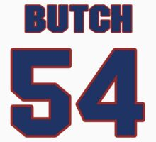 National football player Butch Riley jersey 54 by imsport