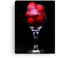 Funny Looking Tomato Juice? Canvas Print