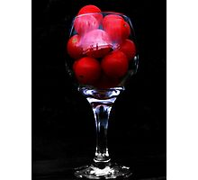 Funny Looking Tomato Juice? Photographic Print