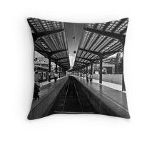 station Throw Pillow